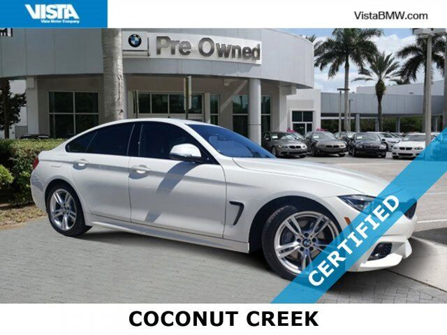 2018 BMW 4 Series 430i Coconut Creek FL