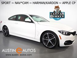 2018_BMW_4 Series 430i Coupe_*SPORT, NAVIGATION, BLIND SPOT ALERT, BACKUP-CAMERA, HARMAN/KARDON, DAKOTA LEATHER, MOONROOF, 19 INCH WHEELS, APPLE CARPLAY_ Round Rock TX
