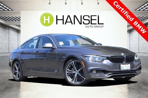 2018 BMW 4 Series 430i Gran Coupe Santa Rosa CA