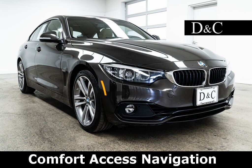 2018 BMW 4 Series 430i Gran Coupe Comfort Access Navigation Portland OR
