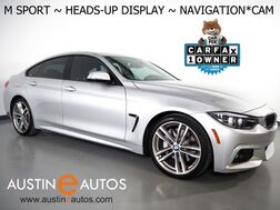 2018_BMW_4 Series 430i Gran Coupe_*M SPORT PKG, HEADS-UP DISPLAY, NAVIGATION, BACKUP-CAMERA, MOONROOF, HEATED SEATS, ADAPTIVE M SUSPENSION, BLUETOOTH_ Round Rock TX