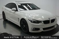 BMW 4 Series 430i Gran Coupe M SPORT,NAV,CAM,SUNROOF,HEADS UP 2018