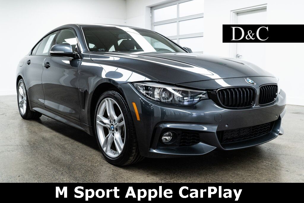 2018 BMW 4 Series 430i Gran Coupe M Sport Apple CarPlay Heated Seats Portland OR