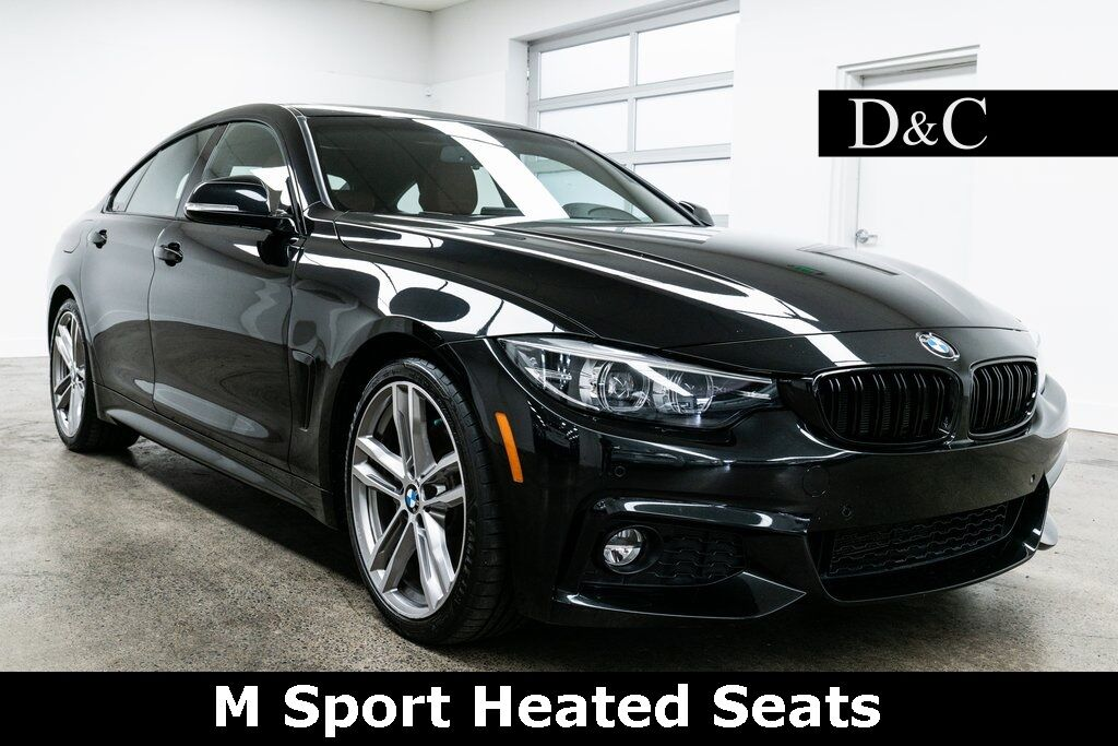 2018 BMW 4 Series 430i Gran Coupe M Sport Heated Seats Portland OR