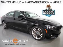 BMW 4 Series 430i Gran Coupe *SPORT, HEADS-UP DISPLAY, NAVIGATION, BLIND SPOT ALERT, BACKUP-CAMERA, LEATHER, HEATED SEATS, HARMAN/KARDON, APPLE CARPLAY 2018