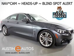 2018_BMW_4 Series 430i Gran Coupe_*SPORT, HEADS-UP DISPLAY, NAVIGATION, BLIND SPOT ALERT, BACKUP-CAMERA, MOONROOF, LEATHER, HEATED SEATS, COMFORT ACCESS, APPLE CARPLAY_ Round Rock TX
