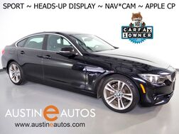 2018_BMW_4 Series 430i Gran Coupe_*SPORT LINE, HEADS-UP DISPLAY, NAVIGATION, BACKUP-CAMERA, PARK DISTANCE CONTROL, MOONROOF, HEATED SEATS, COMFORT ACCESS, APPLE CARPLAY_ Round Rock TX