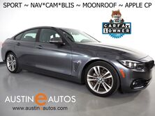 BMW 4 Series 430i Gran Coupe *SPORT LINE, NAVIGATION, BLIND SPOT ALERT, BACKUP-CAMERA, MOONROOF, HEATED SEATS, COMFORT ACCESS, BLUETOOTH, APPLE CARPLAY 2018