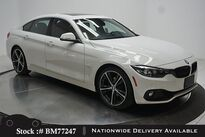 BMW 4 Series 430i Gran Coupe SPORT LINE,CAM,SUNROOF,HTD STS 2018