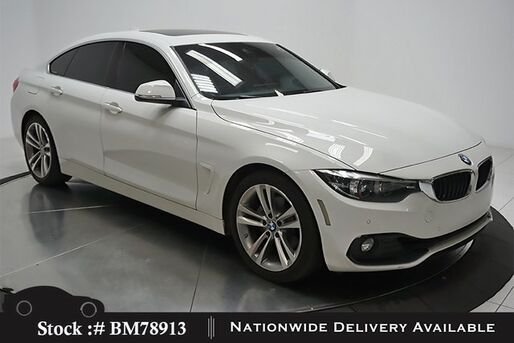 2018_BMW_4 Series_430i Gran Coupe SPORT LINE,NAV,CAM,SUNROOF,HTD STS_ Plano TX