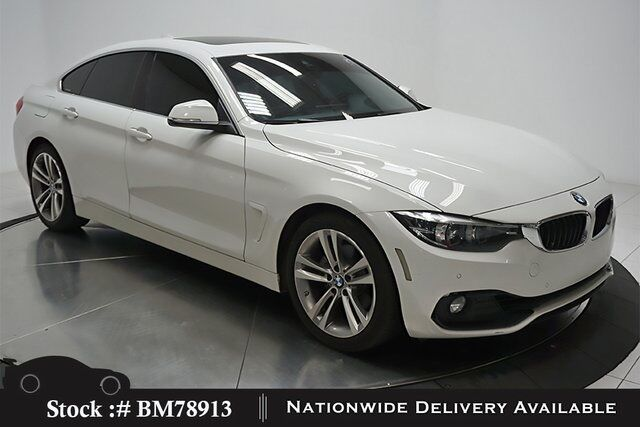 2018 Bmw 4 Series 430i Gran Coupe Sport Line Nav Cam Sunroof Htd Sts