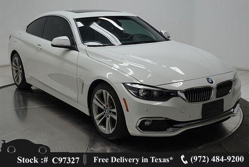 2018_BMW_4 Series_430i LUXURY,NAV,CAM,SUNROOF,HTD STS,PARK ASST_ Plano TX