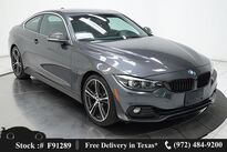 BMW 4 Series 430i SPORT LINE,NAV,CAM,SUNROOF,HTD STS,19IN WLS 2018
