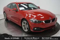 BMW 4 Series 430i SPORT LINE,NAV,CAM,SUNROOF,HTD STS,HEADS UP 2018