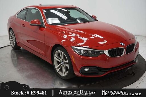 2018_BMW_4 Series_430i SPORT LINE,NAV,CAM,SUNROOF,HTD STS,HEADS UP_ Plano TX