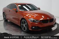 BMW 4 Series 430i SPORT LINE,NAV,CAM,SUNROOF,HTD STS,PARK ASST 2018