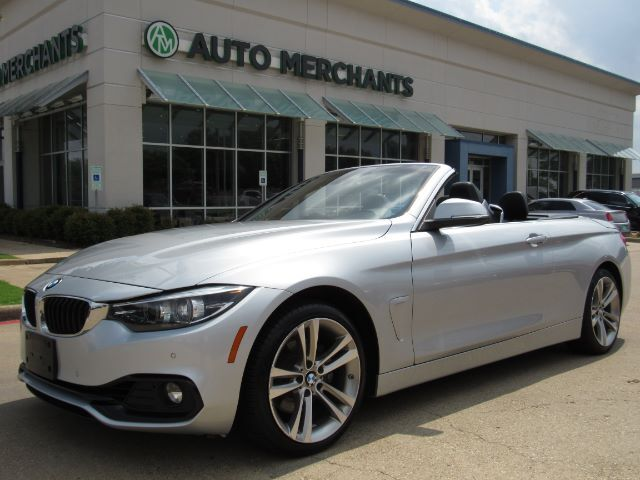 2018 BMW 4-Series 430i SULEV Convertible LEATHER, NAVIGATION, BACKUP  CAMERA, PARKING SENSORS, PADDLE SHIFTERS