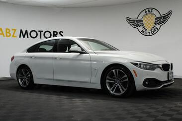 2018_BMW_4 Series_430i Sport Pkg,Blind Spot,Camera,Bluetooth,Push Start_ Houston TX
