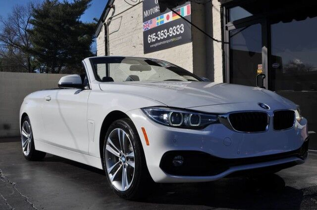 2018 BMW 4 Series 430i xDrive Convertible/Sport Line/Essentials Package w/ Comfort Access, Rear Parking Sensors, Satellite Radio/Navigation/Rear View Camera Nashville TN