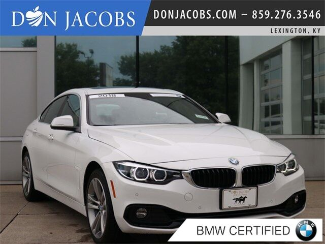 2018 BMW 4 Series 430i xDrive Gran Coupe Lexington KY