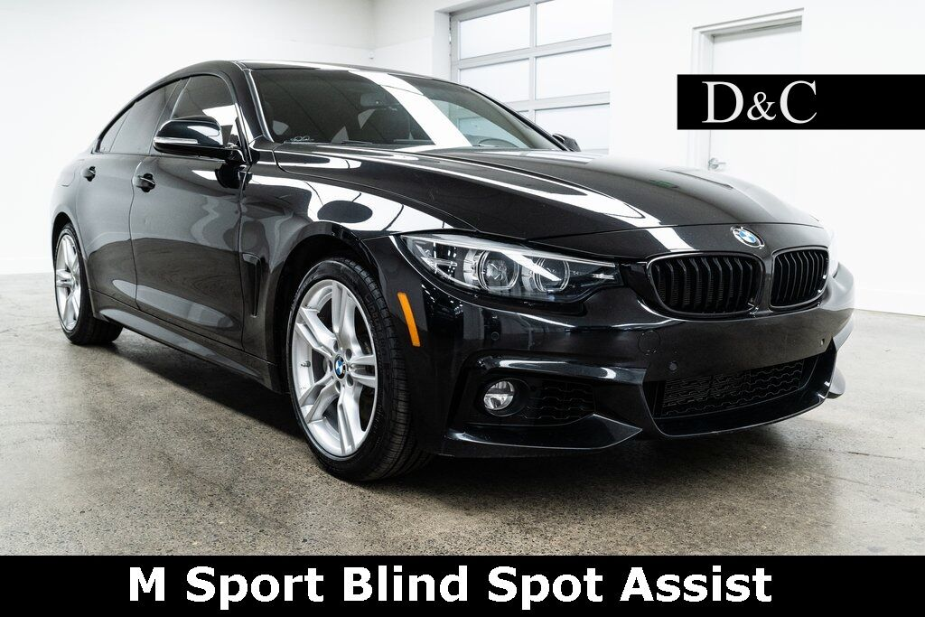 2018 BMW 4 Series 440i xDrive Gran Coupe M Sport Blind Spot Assist Heated Seats Portland OR