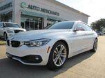 2018 BMW 4-Series Gran Coupe 440i. SPORT LINE PKG, ESSENTIALS PKG, PREMIUM PKG. NAVI, BLIND SPOT, LANE DEPART, H.U.D,