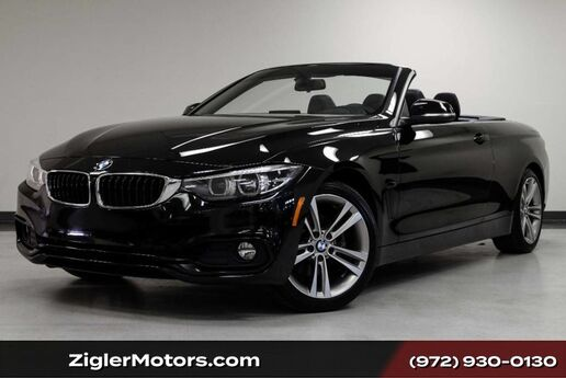 2018 BMW 430i Convertible Sport Line Driver Assistance Addison TX