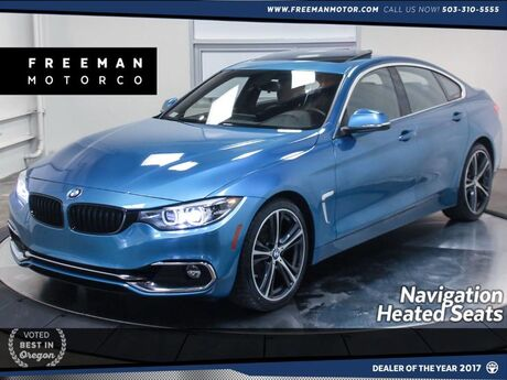 2018 BMW 430i Gran Coupe Nav Back-Up Cam Heated Seats Portland OR