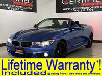 BMW 430i HARD TOP CONVERTIBLE M SPORT NAVIGATION PARK ASSIST POWER LEATHER SEATS SMA 2018