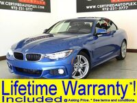 BMW 430i M SPORT Line Convertible Navigation Rear Camera Front And Rear Parking Aid 2018