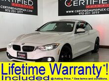 2018_BMW_430i_SPORT LINE HARD TOP CONVERTIBLE NAVIGATION REAR CAMERA PARK ASSIST POWER LE_ Carrollton TX