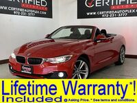 BMW 430i XDRIVE HARD TOP CONVERTIBLE NAVIGATION REAR CAMERA PARK ASSIST HEATED POWER 2018