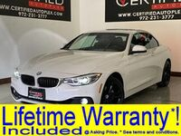 BMW 430i XDRIVE SPORT PACKAGE CONVERTIBLE NAVIGATION REAR CAMERA PARK ASSIST POWER L 2018