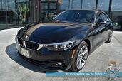 2018 BMW 430i xDrive AWD / Gran Coupe / Heated Leather Seats & Steering Wheel / Navigation / Sunroof / Blind Spot Alert / Bluetooth / Back Up Camera / Cruise Control / 33 MPG / 1-Owner