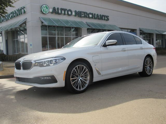 2018 BMW 5-Series 530e iPerformance 2.0L 4CYL TURBOCHARGED HYBRID, AUTOMATIC, LEATHER SEATS, NAVIGATION Plano TX