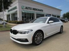 2018_BMW_5-Series_530e iPerformance LEATHER, SUNROOF, BACKUP CAMERA, BLUETOOTH CONNECTIVITY, HTD FRONT STS, NAVIGATION_ Plano TX