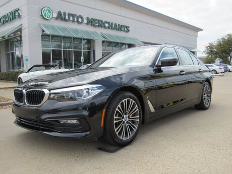 2018 BMW 5-Series 530e iPerformance Premium Package 2 , Driving Assistance, Sport Line*** Heads-Up Display, Navigation Plano TX