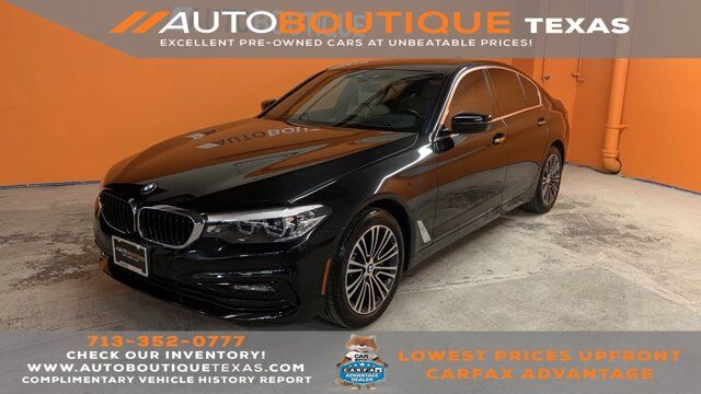 2018 BMW 5 Series 530i Houston TX