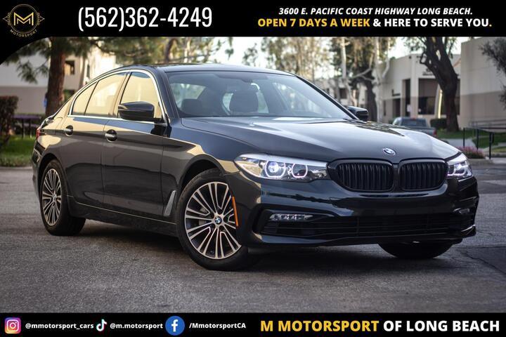 2018 BMW 5 Series 530i Sedan 4D Long Beach CA