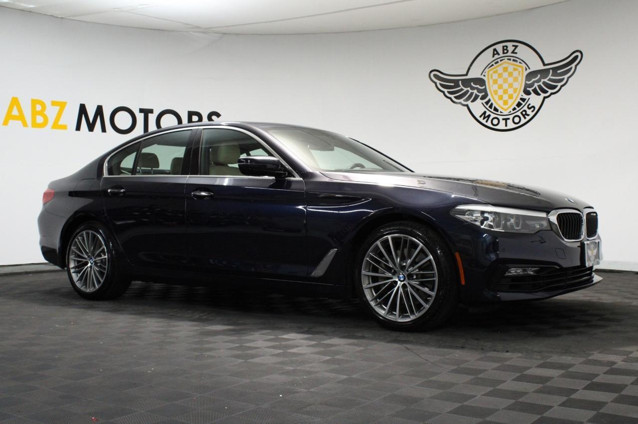 2018 BMW 5 Series 530i Sport Pkg,Navigation,Camera,Apple Play,Heated Seats Houston TX