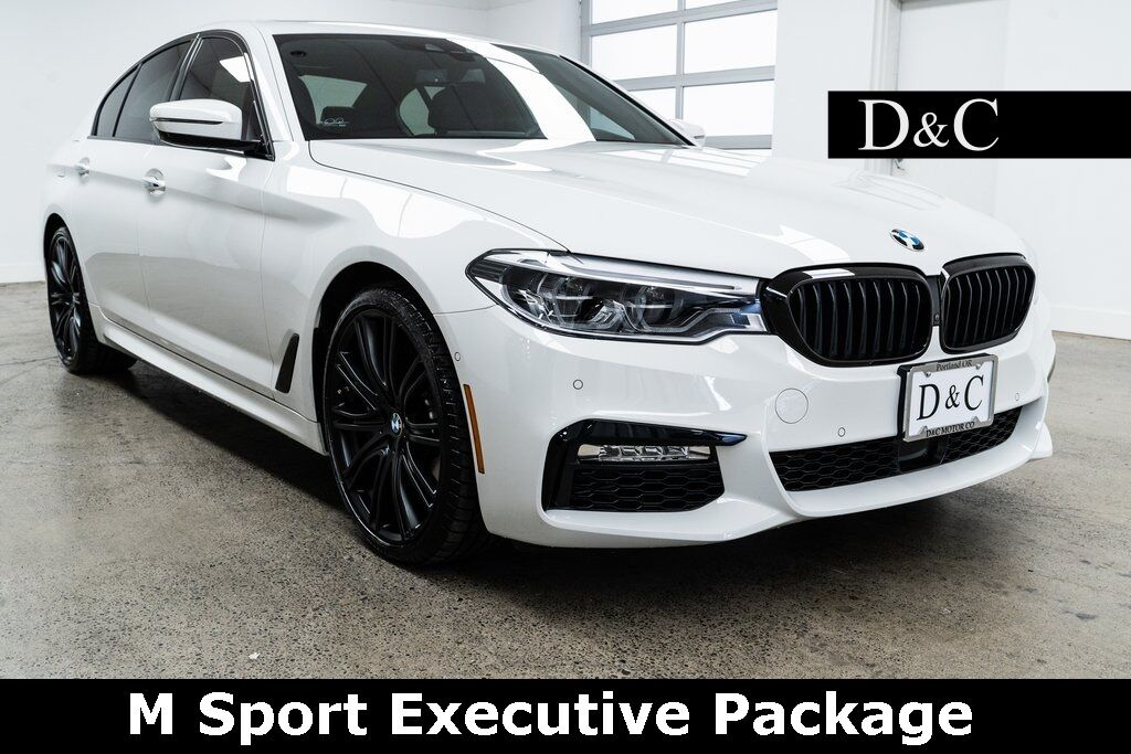 2018 BMW 5 Series 540i M Sport Executive Package Portland OR