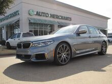 2018_BMW_5-Series_M550i xDrive  LEATHER SEATS, SUNROOF, NAVIGATION, EXECUTIVE PACKAGE, BLIND SPOT MONITOR_ Plano TX
