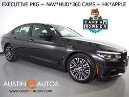 2018_BMW_530e iPerformance Plug-In Hybrid_*EXECUTIVE PKG, HEADS-UP DISPLAY, NAVIGATION, SAFETY ALERTS, ADAPTIVE CRUISE, 360 VIEW CAMERAS, LEATHER, HARMAN/KARDON, APPLE CARPLAY_ Round Rock TX