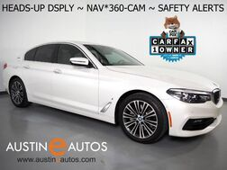 2018_BMW_530e iPerformance Plug-In Hybrid_*NAVIGATION, HEADS-UP DISPLAY, BLIND SPOT & LANE DEPARTURE ALERT, COLLISION ALERT, ADAPTIVE CRUISE, 360 CAMERAS, MOONROOF, LEATHER, HEATED SEATS, BLUETOOTH_ Round Rock TX