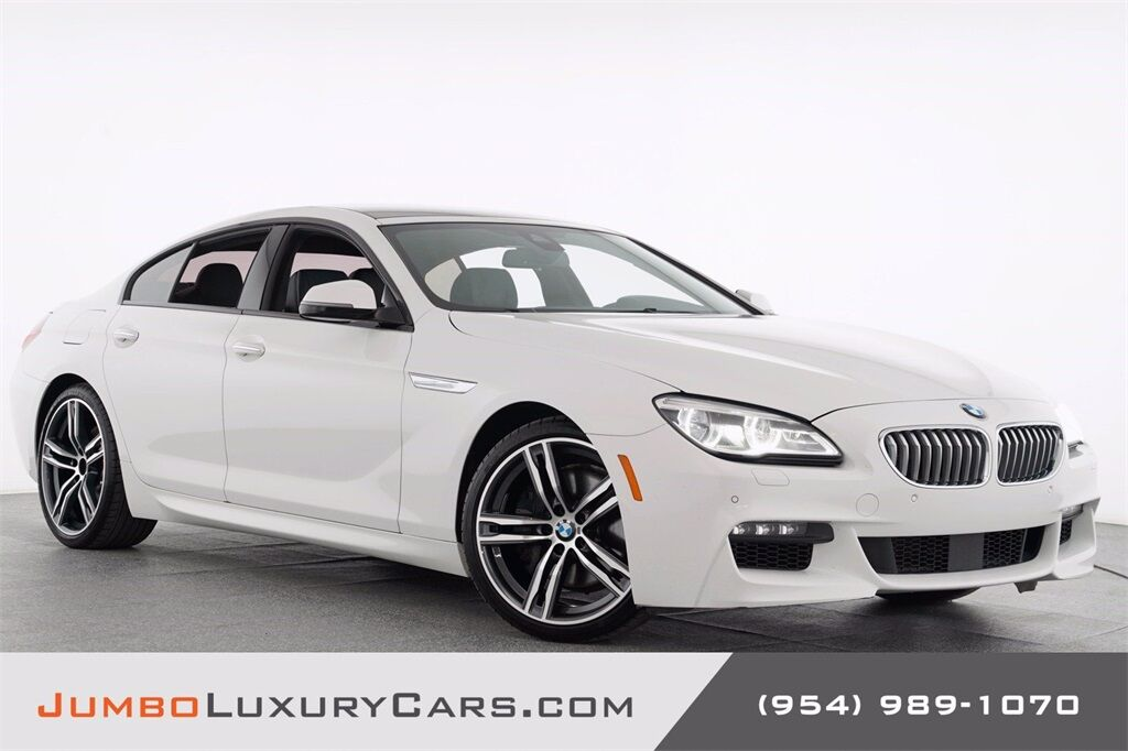 2018 BMW 6 Series 650i Gran Coupe Hollywood FL