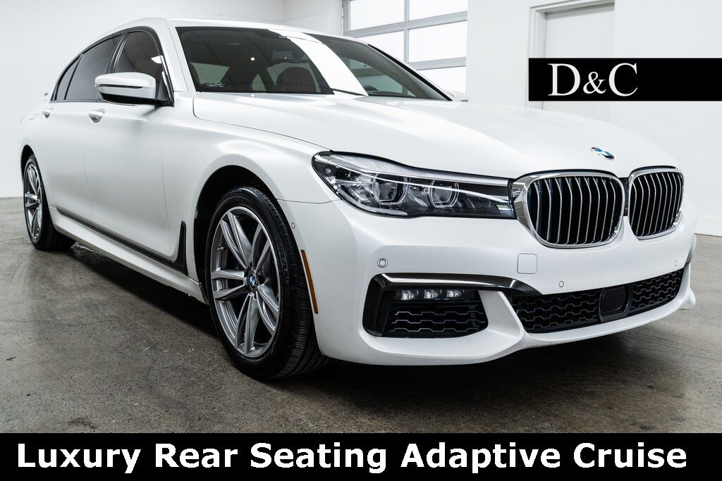 2018 BMW 7 Series 740e xDrive iPerformance Luxury Rear Seating Adaptive Cruise Portland OR
