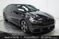 BMW 7 Series 740i M SPORT,DRVR ASST+,NAV,CAM,PANO,$95K MSRP 2018