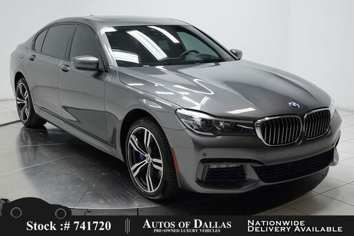 2018_BMW_7 Series_740i M SPORT,NAV,CAM,PANO,CLMT STS,HEADS UP_ Plano TX