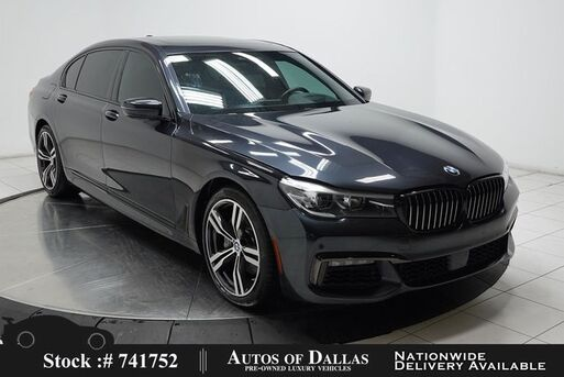 2018_BMW_7 Series_740i M SPORT,NAV,CAM,PANO,HTD STS,PARK ASST,19IN W_ Plano TX