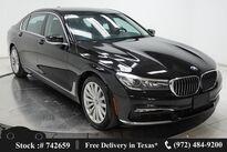BMW 7 Series 740i NAV,CAM,PANO,HTD STS,PARK ASST,LED LIGHTS 2018